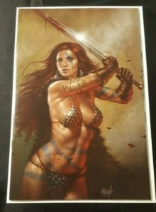 RED SONJA 20 VARIANT LUCIO PARRILLO NYCC 2018 VF/NM RARE ONLY 500 QUEEN VOL 1