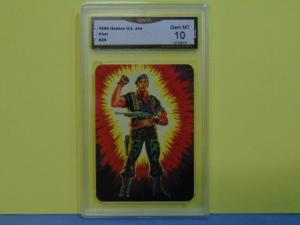 1986 Hasbro GI G.I. Joe #24 Series 1 Flint Warrant Officer - Graded Gem Mint 10