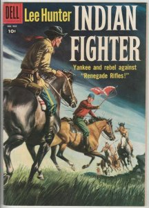 Four Color # 904 Strict VF/NM Cover Painted! Lee Hunter Indian Fighter
