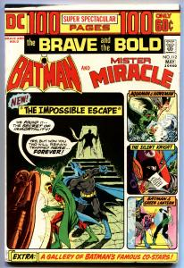 BRAVE AND THE BOLD #112-1974-BATMAN/MR. MIRICLE