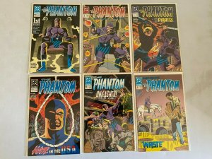Phantom run #1-6 8.0 VF (1989 DC 2nd Series)