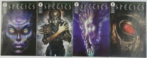 Species #1-4 VF+ complete series adapts the movie - john bolton set 2 3 lot