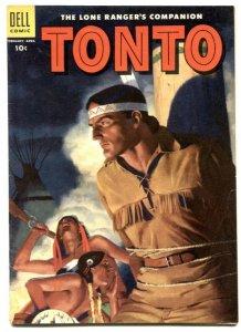 Tonto #18 1955- Dell Western- Lone Ranger's companion FN+