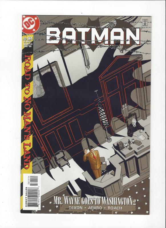 Batman #561 Road to No Man's Land  NM