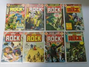 Bronze Age DC War Comics Lot Sgt. Rock From:#251-301, 29 Diff. Avg 5.0 (1971-76)