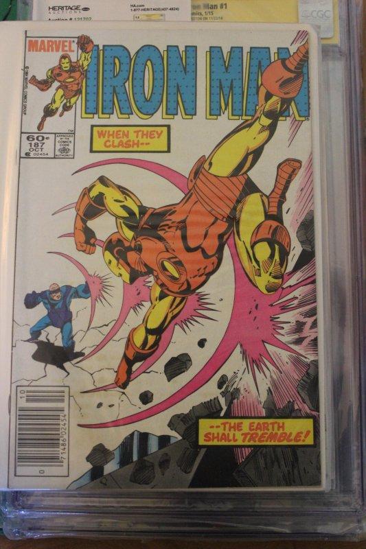 Iron Man 187  VF