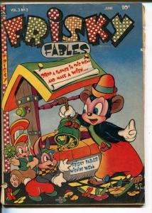 FRISKY FABLES  #3 1947-PREMIUM-AL FAGO-WACKY-FUNNY ANIMALS-vg minus