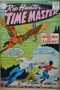 Rip Hunter ... Time Master #4 (1961)  5.0, High Grade!!!