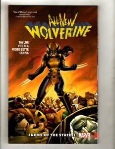 Enemy Of State All New Wolverine Vol 3 Marvel Comics TPB Graphic Novel Book J370