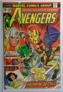 Avengers (1st Series) #139, 6.0/FN (1975)