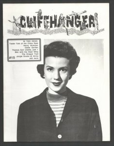 Cliffhanger #15 1991-WOY-Classic zine for fans & collectors of serials-Trader...