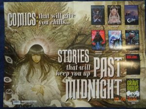 COMICS THAT WILL GIVE YOU CHILLS Promo Poster, 18 x 24, 2017, IMAGE Unused more