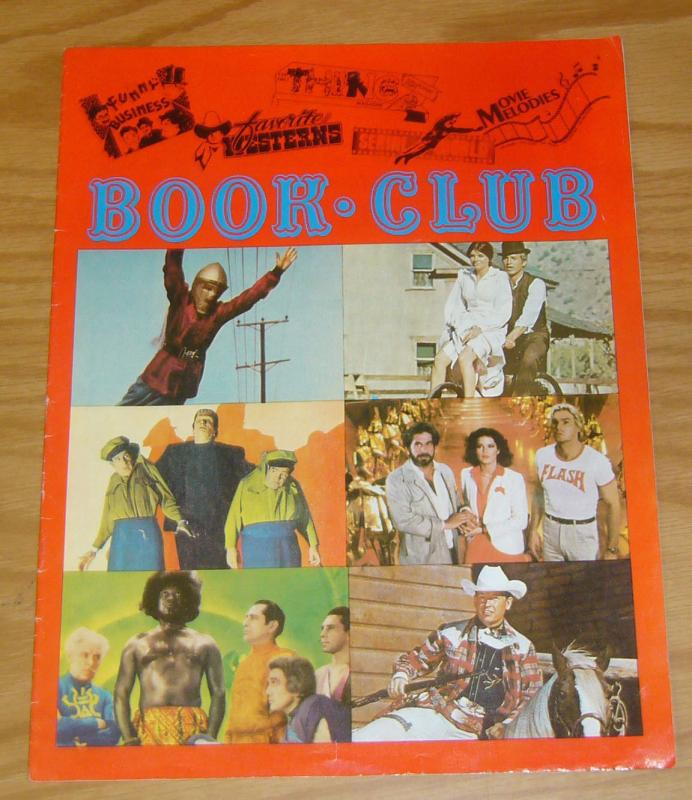 Book-Club Catalog FN king of the rocket men - flash gordon - frankenstein cover