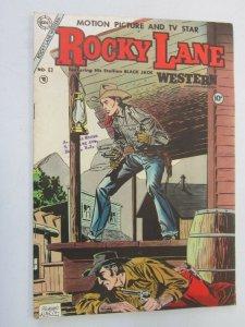 Rocky Lane #63 5.0 Slight H20 Stain on Cover (1954)