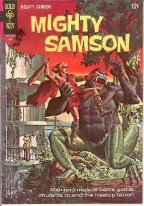 MIGHTY SAMSON 10 VG   June 1967 COMICS BOOK