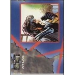 1993 Upper Deck Valiant/Image Deathmate ATLAS #5