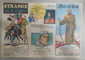 Strange As It Seems: Father Juno Serra, Queen Christina by Hix from 10/13/1946