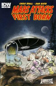 Mars Attacks First Born #1 VF/NM; IDW | save on shipping - details inside