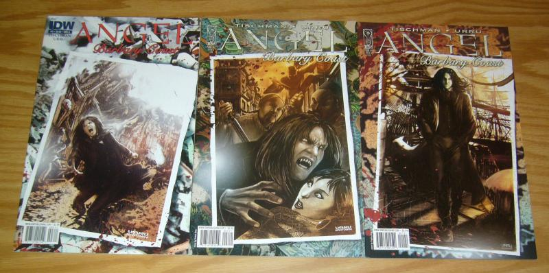 Angel: Barbary Coast #1-3 VF/NM complete series ALL A VARIANTS buffy comics set