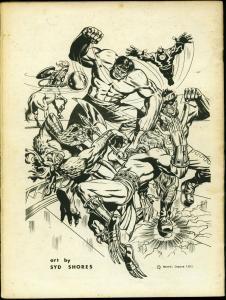 Comic Crusader Fanzine  #15 1973-- Captain Marvel- Fawcett FN