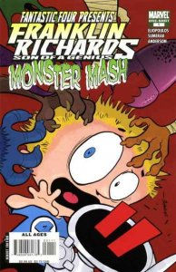 Franklin Richards: Monster Mash #1, NM + (Stock photo)