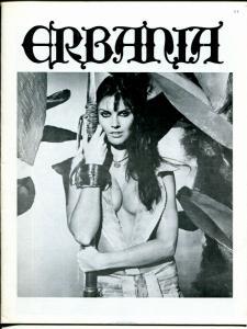 Erbania #39 1976 -Edgar Rice Burroughs-Tarzan-Caroline Munro-info-pix- FN/VF