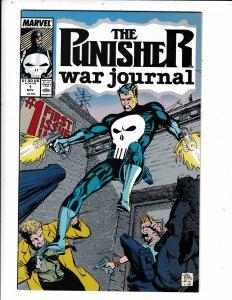 The Punisher War Journal #1 (1988) VF/FN MARVEL COMICS