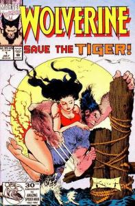 Wolverine (1988 series) Save the Tiger #1, NM- (Stock photo)