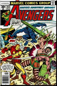 Avengers #163, 8.0 or Better - vs The Champions