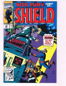 Nick Fury Agent of Shield #29 VF Marvel Comics Comic Book DE7