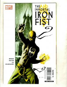 Immortal Iron Fist # 1 NM 1st Print Marvel Comic Book Danny Rand Defenders SM8