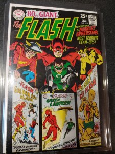 FLASH #178 FINE OVERSIZED ISSUE