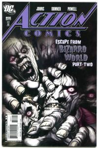 Action Comics #856 2007-Escape from Bizarro World part 2- Eric Powell NM