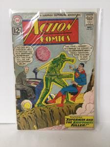 Action Comics 294 No Back Cover DC Comics SA