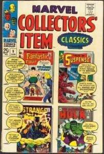 Marvel Collectors' Item Classics #9, Fine- (Stock photo)