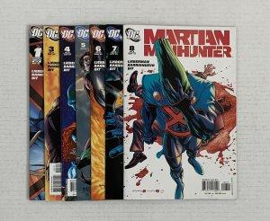 Martian Manhunter #1 & 3-8 Lot Of 7