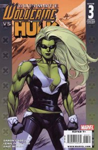 Ultimate Wolverine vs. Hulk #3 (2nd) VF; Marvel | save on shipping - details ins