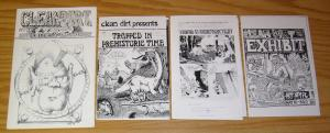 Clean-Dirt Comix #1-2 SUPER RARE GWAR COMIC 1988 (ONLY 500 PRINTED) band brockie
