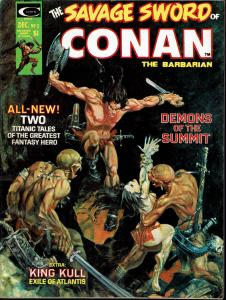 Savage Sword of Conan #3 - Early Conan Magazine - 6.0 or Better
