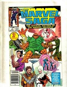 11 Comics Marvel Saga 1 4 6 10 12 13 15 Conan 165 Annual 9 The King 25 26 GB1