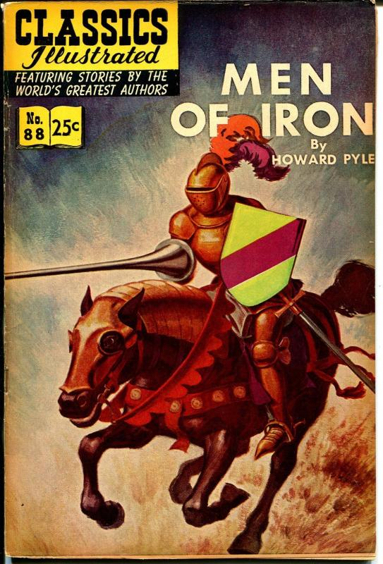 Classics Illustrated #88 1968-Gilberton-Men Of Iron-HRN 166-FN