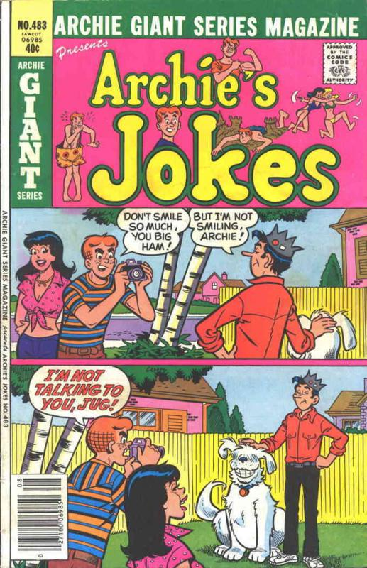 Archie Giant Series Magazine #483 FN Archie - save on shipping - details inside