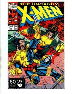 Uncanny X-Men #277 - Jim Lee - Wolverine vs Gambit - 1991 - VF/NM