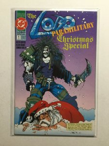 The Lobo Paramilitary Christmas Special 1 Near Mint Nm Dc Comics