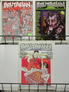Brutarian Magazine #21-23 Music Art Film Fela Cuti Interview Peter Straub