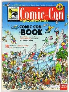 SDCC MAGAZINE for 2009, NM, Sergio Aragones,Wondercon San Diego Comic Convention