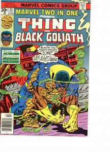 Marvel Two-In-One 24 VG Black Goliath