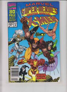 Marvel Super-Heroes #8 VF- newsstand edition - 1st squirrel girl - erik larsen