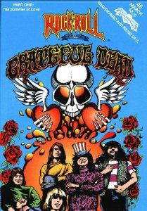 #1 volume one Grateful Dead Summer of Love comic book. NOT THE REPRINT