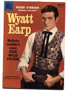 Wyatt Earp #5 1959- Hugh O'Brian Dell Western VF-
